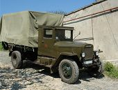 Military Lorry poster