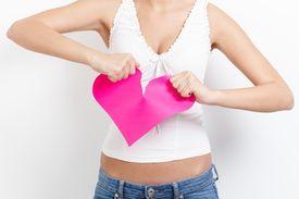 stock photo of broken-heart  - Heart - JPG