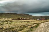 Bodie Ghost Town In California. Bodie Is A Historic State Park From A Gold Rush Era  In The Bodie Hi poster