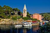 Veli Losinj Panoramic - Church & Safe Harbour