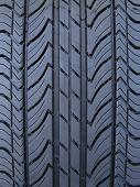 Luxury Car Tire Tread