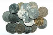 India Rupees coins
