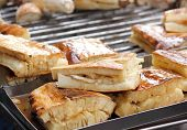 Grilled yam with sweet sauce