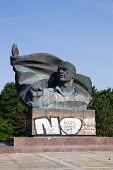 Monument of Thaelmann in Berlin