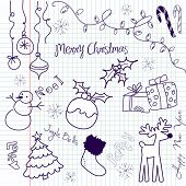 Cute Christmas doodles