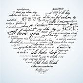 Say I love you in many languages