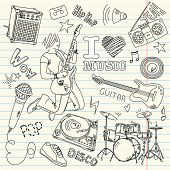 Cool Music Doodles