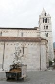 Carrara, Cathedral And Statue