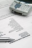 ¿Declaración de hipoteca - retraso en los pagos? Tinte azul