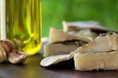 Codfish, Oil And Garlic.
