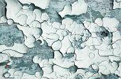 Peeling Paint, Texture Background Of Dark Grey Peeling Paint On The Wooden Texture Surface. Texture  poster