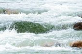 Whitewater Scene And Extreme Sports