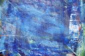 Abstract Colorful Oil Painting On Canvas Texture. Hand Drawn Brush Stroke Oil Color Paintings Backgr poster