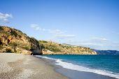 Costa Del Sol Beach In Nerja