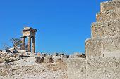 Rhodes Landmark Acropolis poster