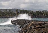 Ahukini Pier Kauai Hawaii