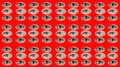 A Lot Of Eyes. Two Types Of Female Eyes. A Background Of The Eyes. Eyes Are Opening And Blinking. Th poster