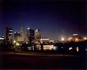 Columbus, Ohio at night