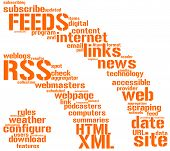 Rss feed sign tag cloud