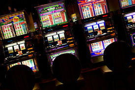 picture of slot-machine  - highly detailed image of Slot machines Las Vegas Nevada - JPG