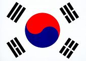 Image of South Korean Flag