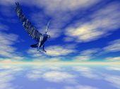 High Sky Eagle poster