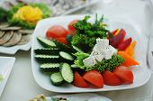 side dish with vegatables