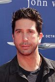 LOS ANGELES - MAR 10:  David Schwimmer arrives at the  10th Annual John Varvatos Stuart House Benefi
