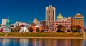 pic of dauphin  - View of the skyline of the capitol city of Pennsylvania - JPG
