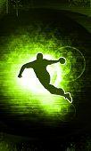 Handball erschossen