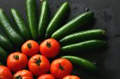 Tomatoes & Cucumber