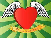Valentine heart.