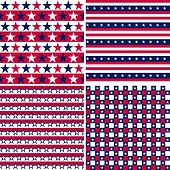 Usa Seamless Pattern