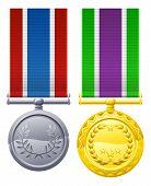 Decorações de estilo militar
