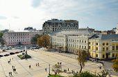 Mikhailovskaya Square In Kyiv