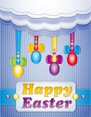 picture of pasqua  - Colorful scrapbook with eggs - JPG