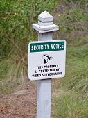 Security Sign 2