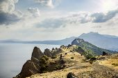 Crimea, Extinct Volcano Kara-dag Mountain Reserve, Ukraine