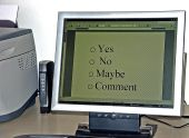 Online Survey On Computer Monitor