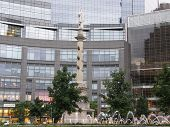Columbus Circle in New York City