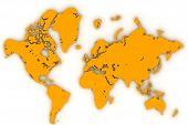 World Map Flat1