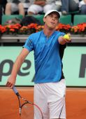 Sam Querrey (usa) At Roland Garros 2009