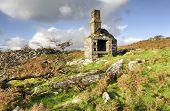 Ruin On Bodmin Moor