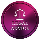 Legal Advice Icon