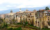 Old Medieval Buildings In Sant'agata Near Naples