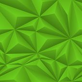 Green Abstract Polygon Background Tile