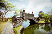 Tirtagangga Water Palace On Bali Island, Indonesia