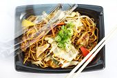 Yakisoba, japanese stir-fried noodles