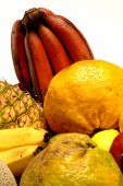 stock photo of tangelo  - tropical fruit - JPG