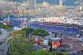 Preparation for the qualifying races of Formula 1 Grand Prix de Monaco.